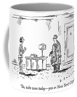 Who Won Today Coffee Mug
