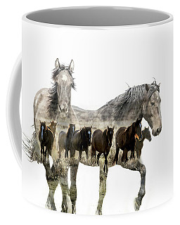 Coffee Mug featuring the photograph Wild And Free by Mary Hone