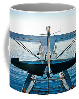 Coffee Mug featuring the photograph Wild Blue by Carl Young