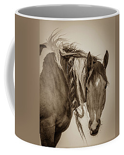 Coffee Mug featuring the photograph Wild Braids by Mary Hone