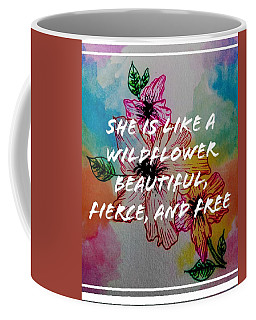 Wild Flower  Coffee Mug