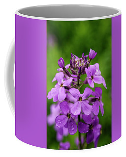 Wild Flowers In The Forest Coffee Mug