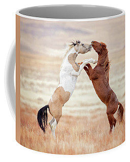 Wild Horses Couldn't Drag Me Away Coffee Mug