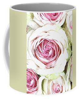 Wild Pink Roses Coffee Mug