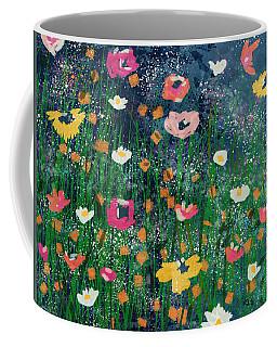 Wildflowers 2- Art By Linda Woods Coffee Mug