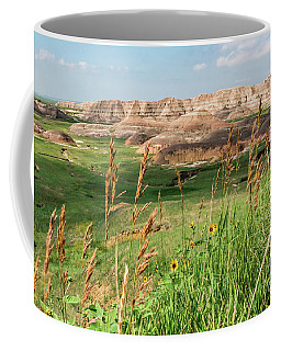Wildflowers In The Badlands Coffee Mug