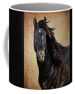 Coffee Mug featuring the photograph Wildly Handsome by Mary Hone