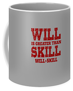 Will Skill Coffee Mug