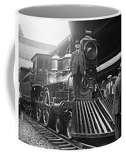 William Crooks 4-4-0 Steam Locomotive Coffee Mug