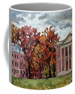 Williams College Rainy Autumn Coffee Mug