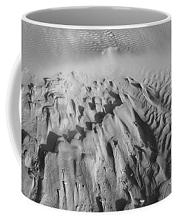 Coffee Mug featuring the photograph Wind Textures 2 by Jeni Gray
