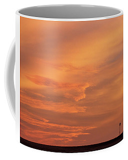 Coffee Mug featuring the photograph Windmill And Afterglow 02 by Rob Graham