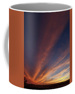 Coffee Mug featuring the photograph Windmill And Afterglow 06 by Rob Graham
