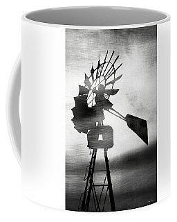 Windmill In The Wind- Art By Linda Woods Coffee Mug