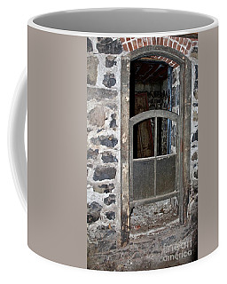 Window Below Coffee Mug