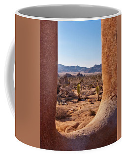 Window Into Joshua Tree National Park Coffee Mug