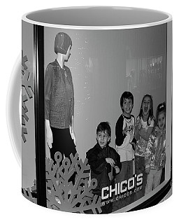 Window Mannequins Coffee Mug