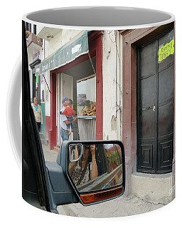 Coffee Mug featuring the photograph Window Shopping  by Rosanne Licciardi