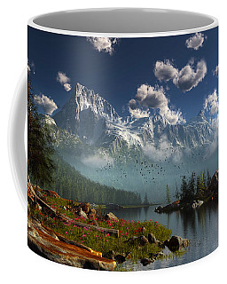 Window Through The Mist Coffee Mug