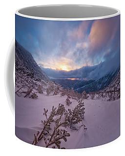 Windswept, Spring Sunrise In Tuckerman Ravine Coffee Mug