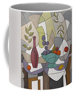 Wine And Fruit Coffee Mug
