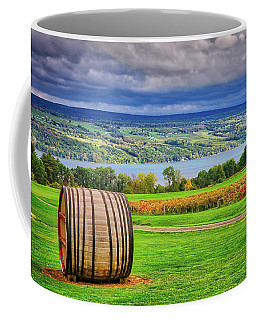 Coffee Mug featuring the photograph Wine Country - Finger Lakes, New York by Lynn Bauer