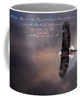 Wings Of Freedom - Pledge Coffee Mug