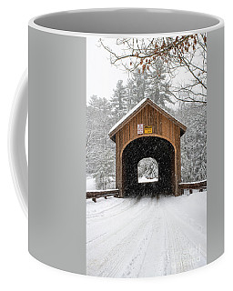 Winter At Babb's Bridge Coffee Mug