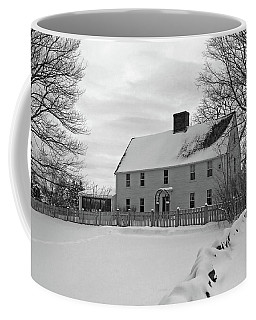 Winter At Noyes House Coffee Mug