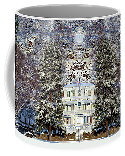 Winter At The Susanville Elks Lodge Coffee Mug