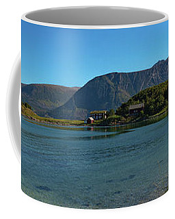 Winter Beach In Norway Coffee Mug