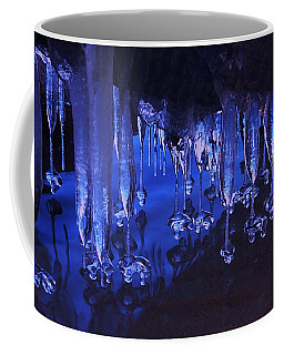 Coffee Mug featuring the photograph Winter Blues  by Sean Sarsfield
