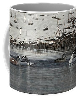 Winter Flock Coffee Mug