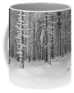 winter forest, Harz Coffee Mug