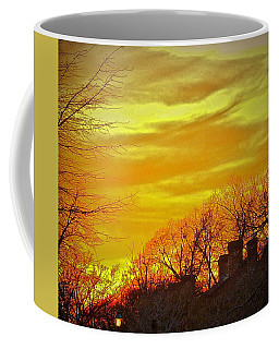 Winter Amber Coffee Mug