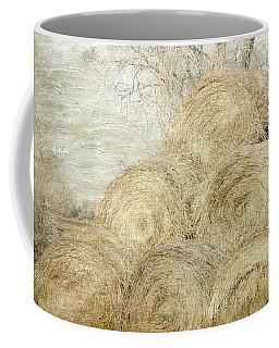 Winter Hay Stack Coffee Mug