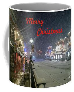 Winter In Cripple Creek - Co Merry Christmas Coffee Mug