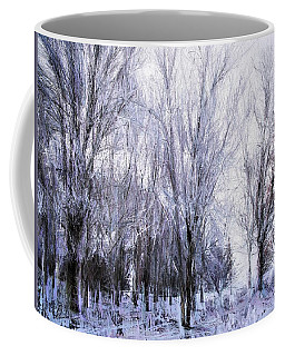 Winter Lace Coffee Mug
