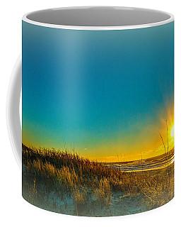 Winter On The Southern Outer Banks Coffee Mug