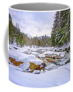Winter On The Swift River. Coffee Mug