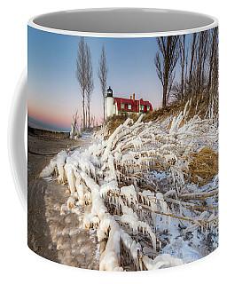 Winter Shore At Point Betsie Coffee Mug
