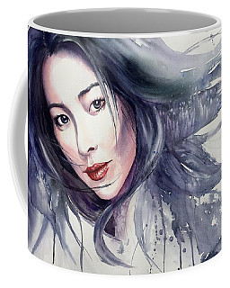 Coffee Mug featuring the painting Winter Storm by Michal Madison