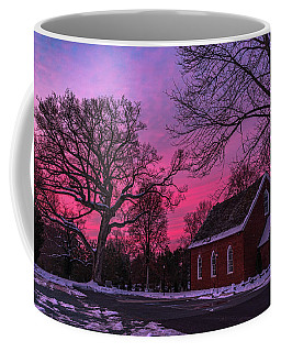 Coffee Mug featuring the photograph Winter Sunrise by Lori Coleman