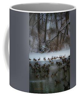 Winter Swim Coffee Mug