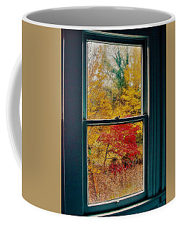 Winter Window Coffee Mug
