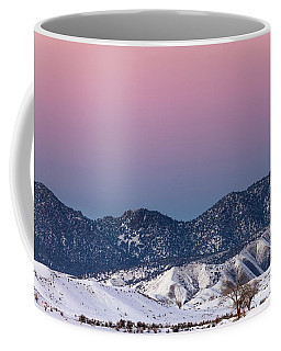 Winter's Gradient Coffee Mug