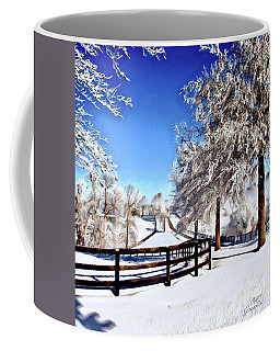 Wintry Lane Coffee Mug