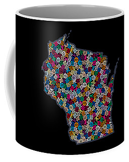 Wisconsin Map - 2 Coffee Mug