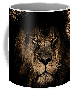 Wise Lion Coffee Mug