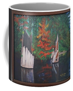 Wolf Lake On Vancouver Island  Coffee Mug